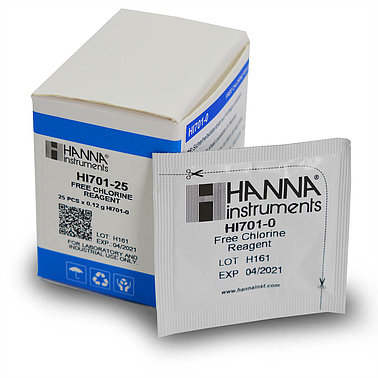 HANNA HI701-25 CHECKER FREE CHLORINE (25 tests)