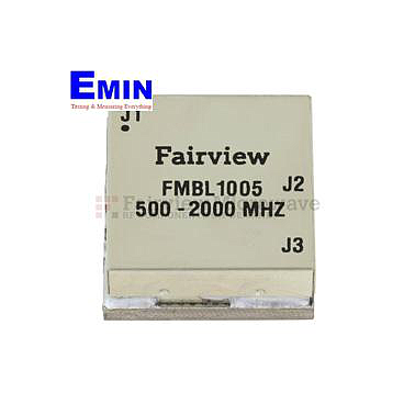 Fairview  FMBL1005 500 MHz to 2 GHz Balun at 50 Ohm to 25 Ohm Rated to 100 Watts in a SMT (Surface Mount) Package