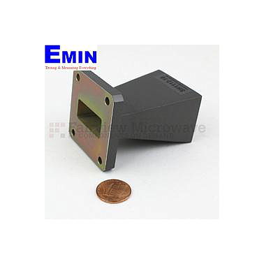 Fairview  SH1112-10 WR-112 Standard Waveguide Horn With Square Cover Flange and 10 dB Typical Gain Operating From 7.05 GHz to 10 GHz Frequency Range