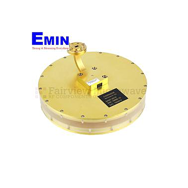 Fairview SANT-2010 WR-15 Waveguide Horn Antenna With UG-387/U Round Cover Flange and 0 dBi Typical Gain Operating From 58 GHz to 63 GHz Frequency Range