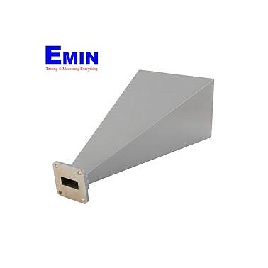Fairview   SH190-20 WR-90 Standard Waveguide Horn With UG-135/U Square Cover Flange and 20 dBi Nominal Gain Operating From 8.2 GHz to 12.4 GHz Frequency Range